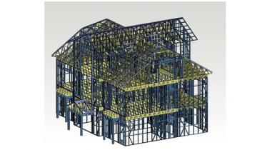 Công nghệ xây dựng nhà khung thép nhẹ