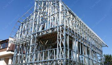 SB3002 – Nhà biệt thự khung thép nhẹ lắp ghép 3 tầng 3 phòng ngủ