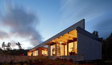 SB1016 – Nhà biệt thự nghỉ dưỡng bằng khung thép nhẹ lắp ghép 1 tầng