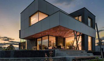 SB2058 - Biệt thự vườn khung thép hiện đại phong cách